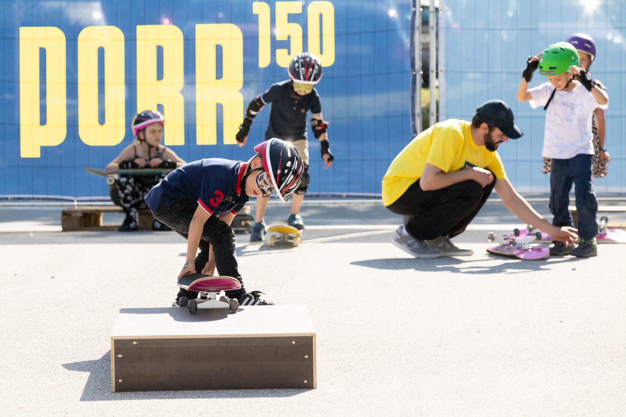 Skateboardkurs Parkour für Firmenfeste